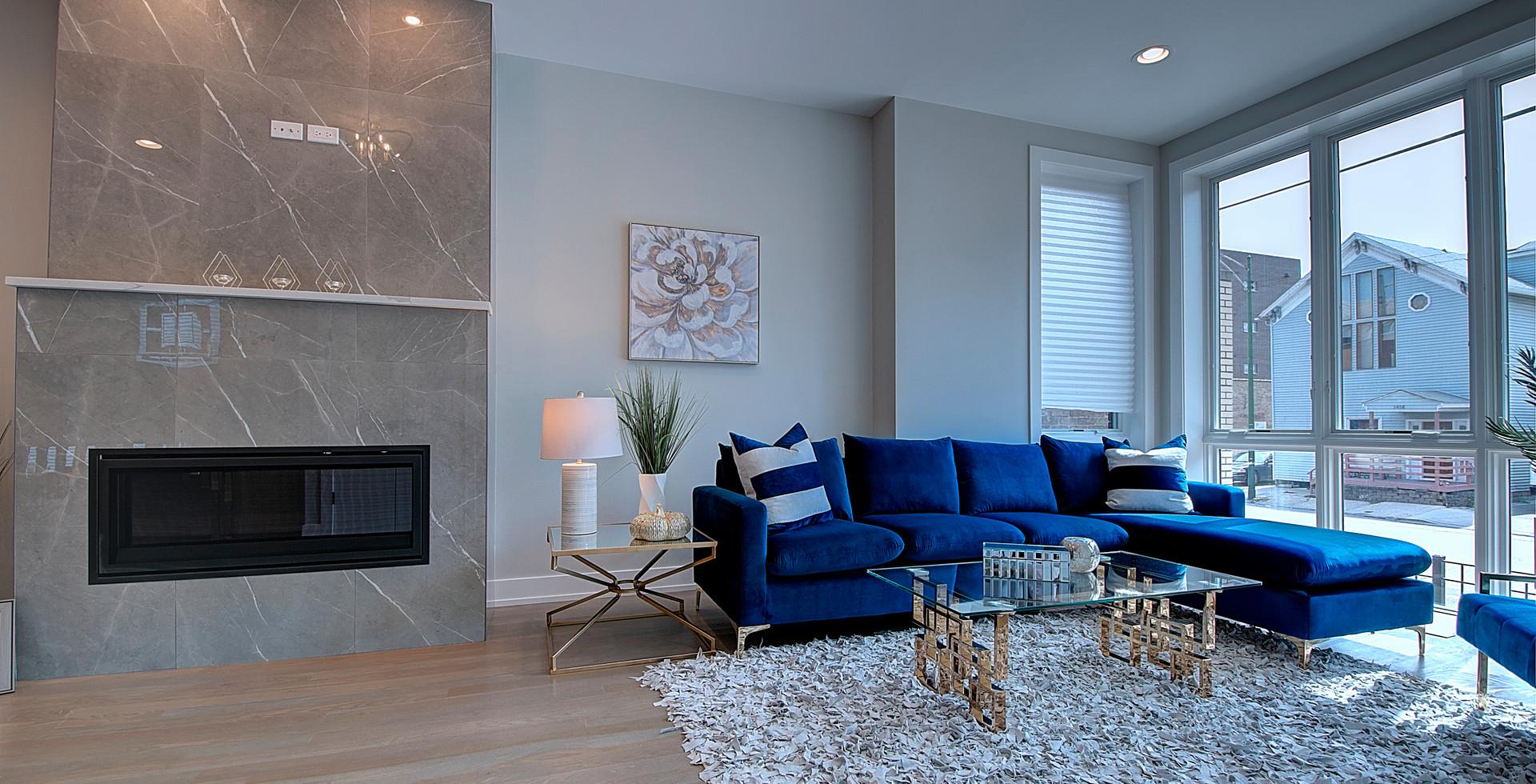 Living Room in Carol Stream designed by MRM Home Design.jpg