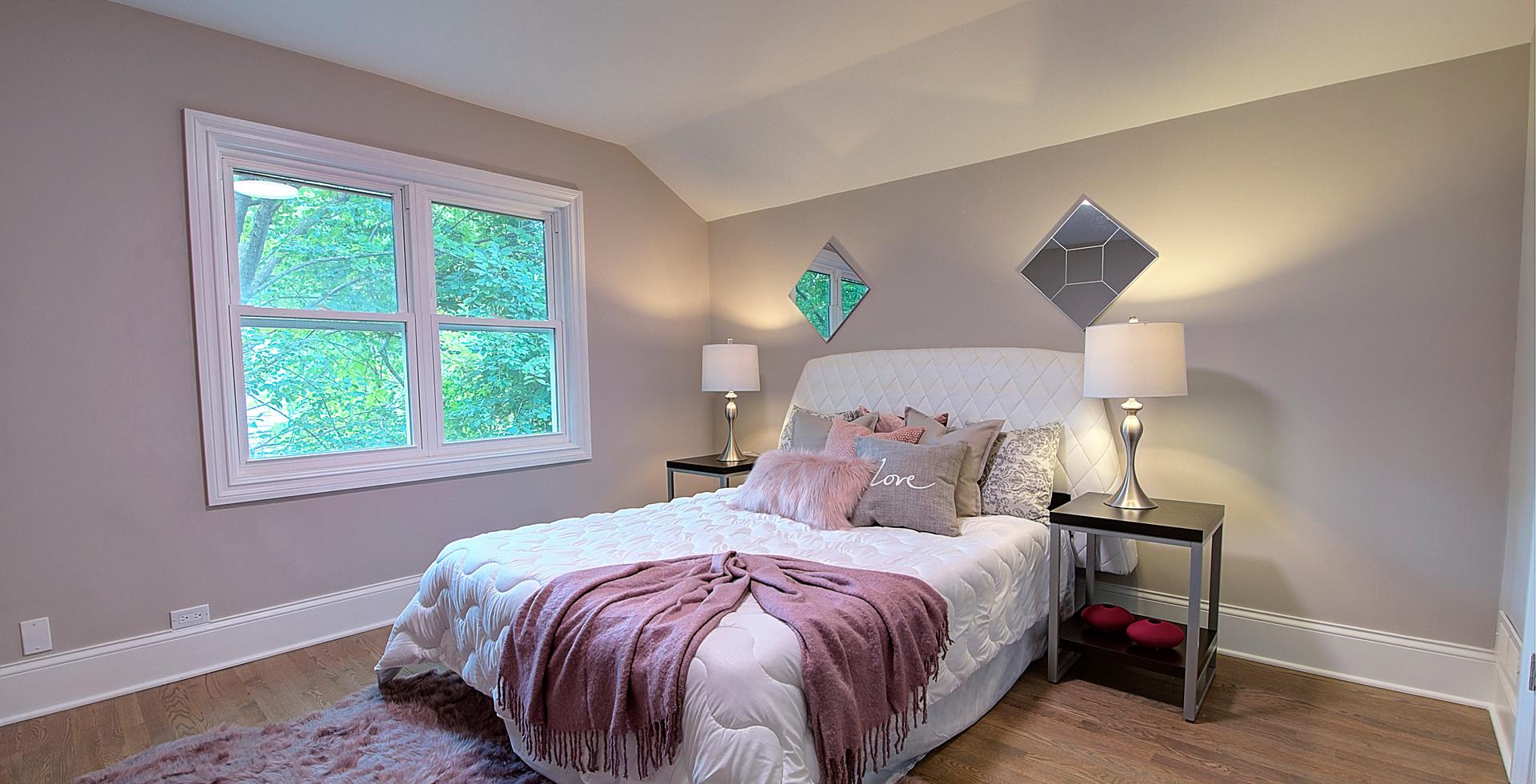 Bedroom in Westchester designed by MRM Home Design.jpg