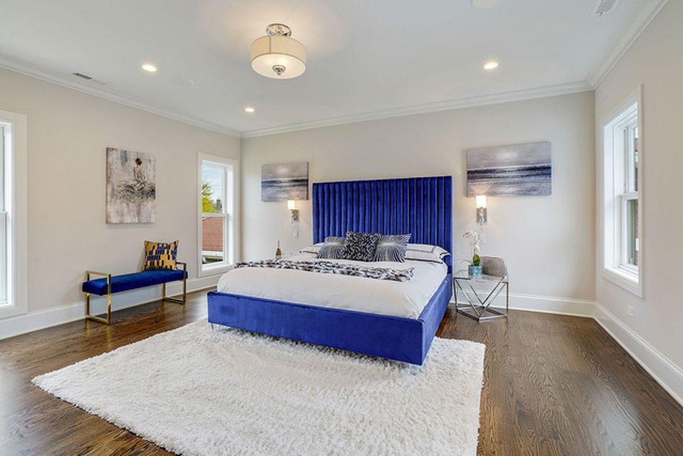 Bedroom in Hickory Hills designed by MRM Home Design.jpg.jpg