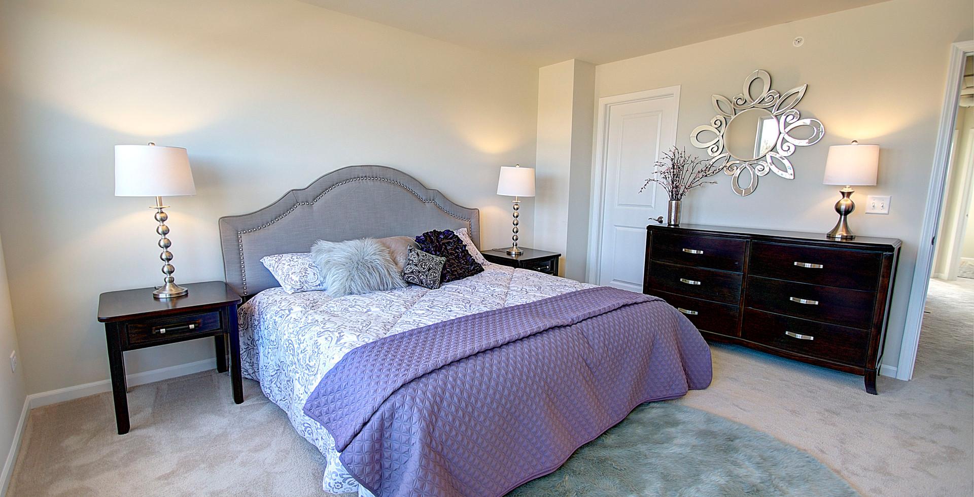 Bedroom in Downers Grove designed by MRM Home Design.jpg