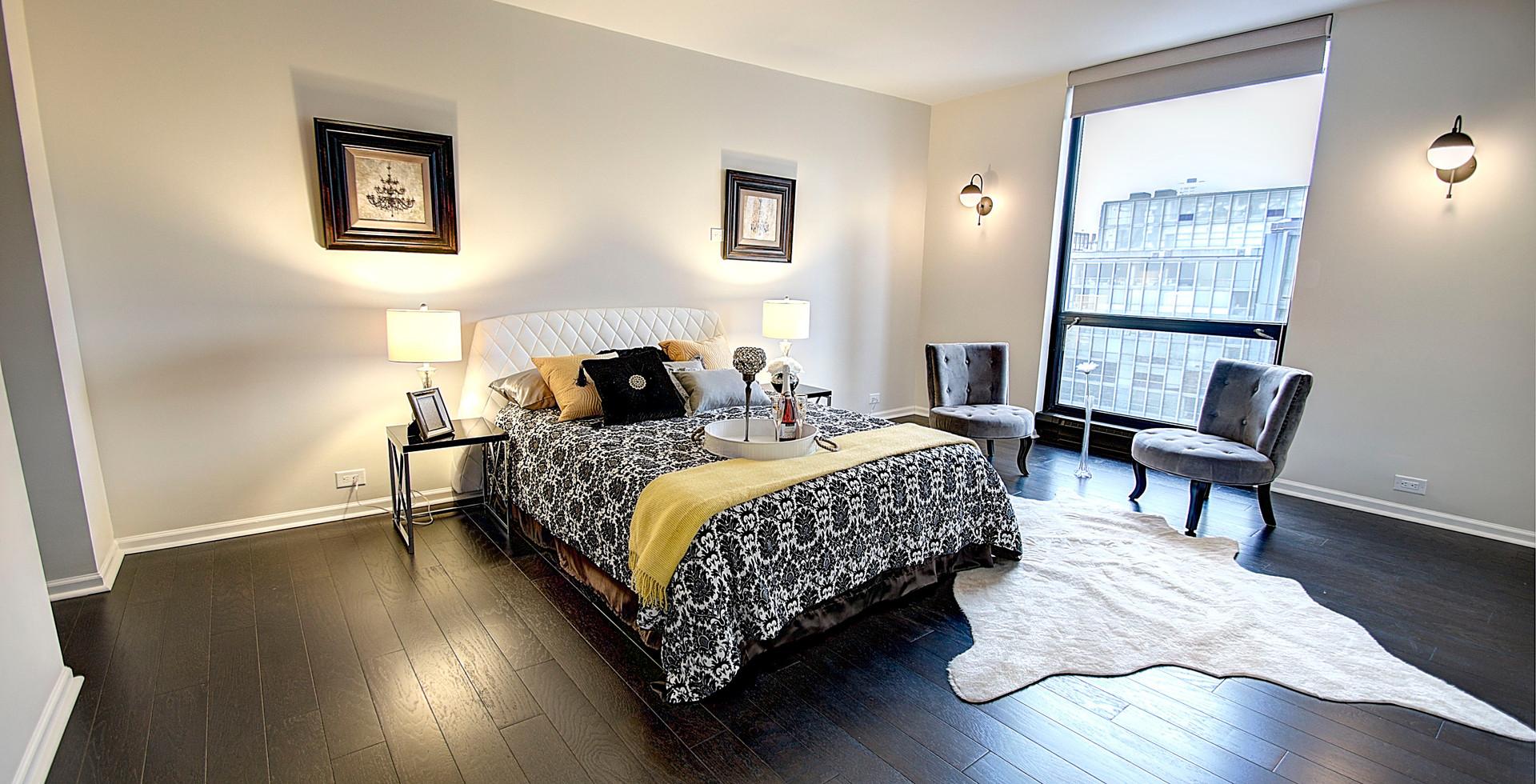 Bedroom in Lisle designed by MRM Home Design.jpg