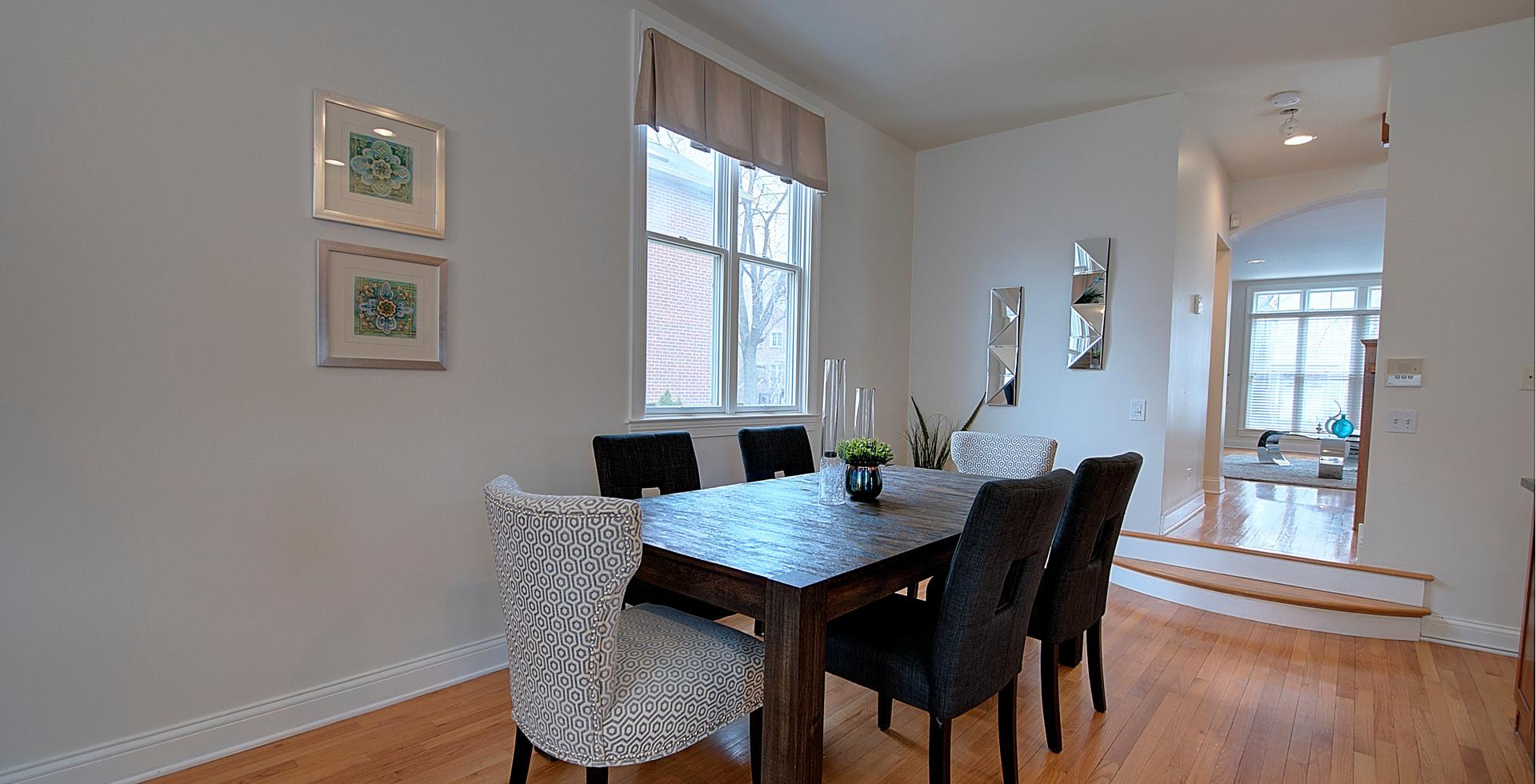 Dining Room in Park Ridge designed by MRM Home Design.jpg
