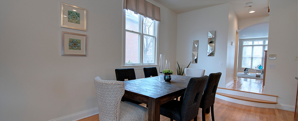 Dining Room in Park Ridge designed by MRM Home Design.jpg