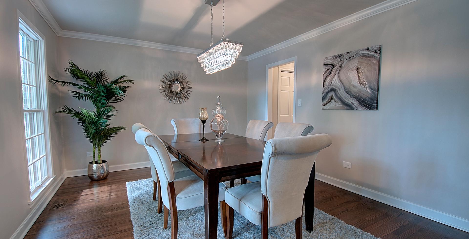 Dining Room in Clarendon Hills designed by MRM Home Design.jpg