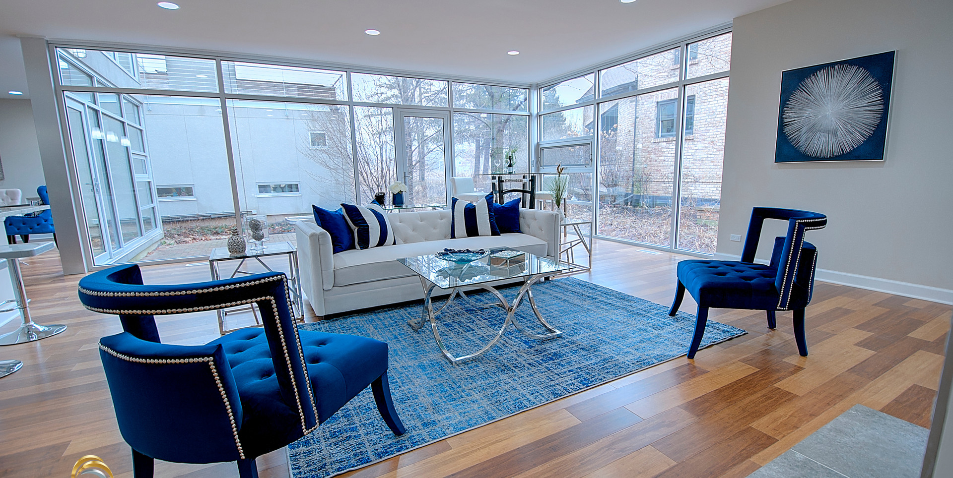 Living Room in Countryside designed by MRM Home Design.jpg