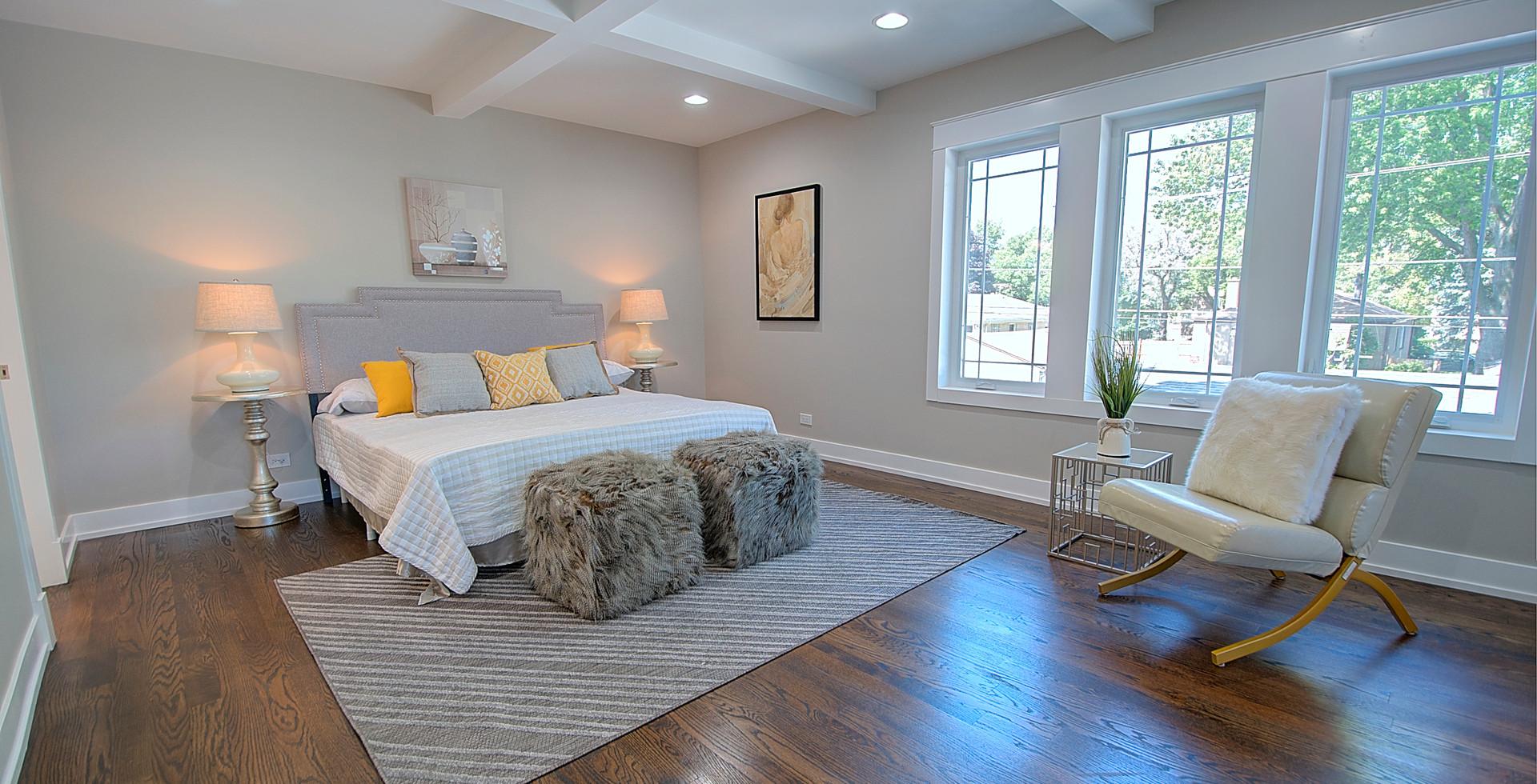 Bedroom in Lombard designed by MRM Home Design.jpg