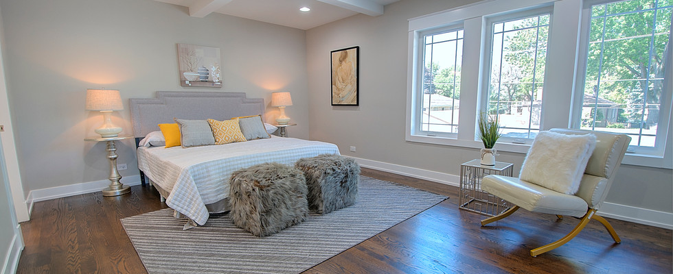 Bedroom in Lombard designed by MRM Home Design.jpg