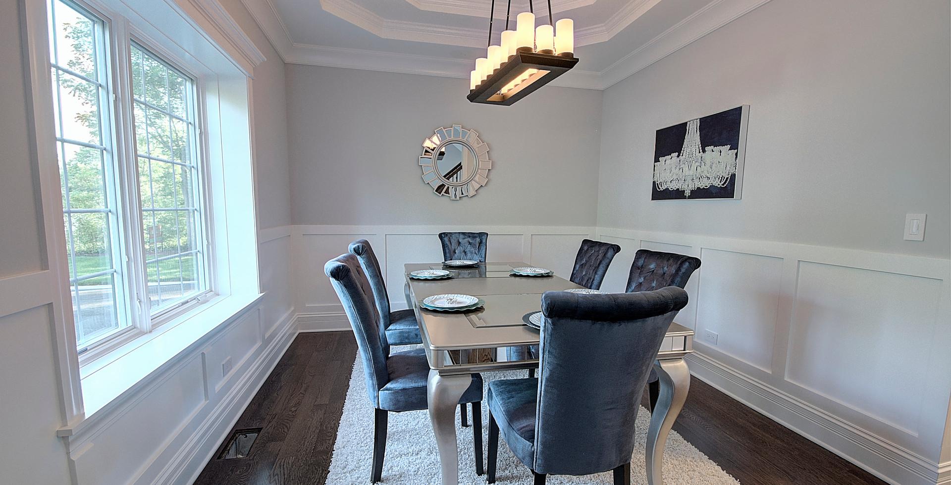 Dining Room in Deerfield designed by MRM Home Design