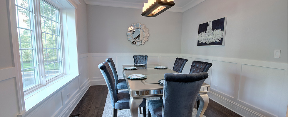 Dining Room in Deerfield designed by MRM Home Design