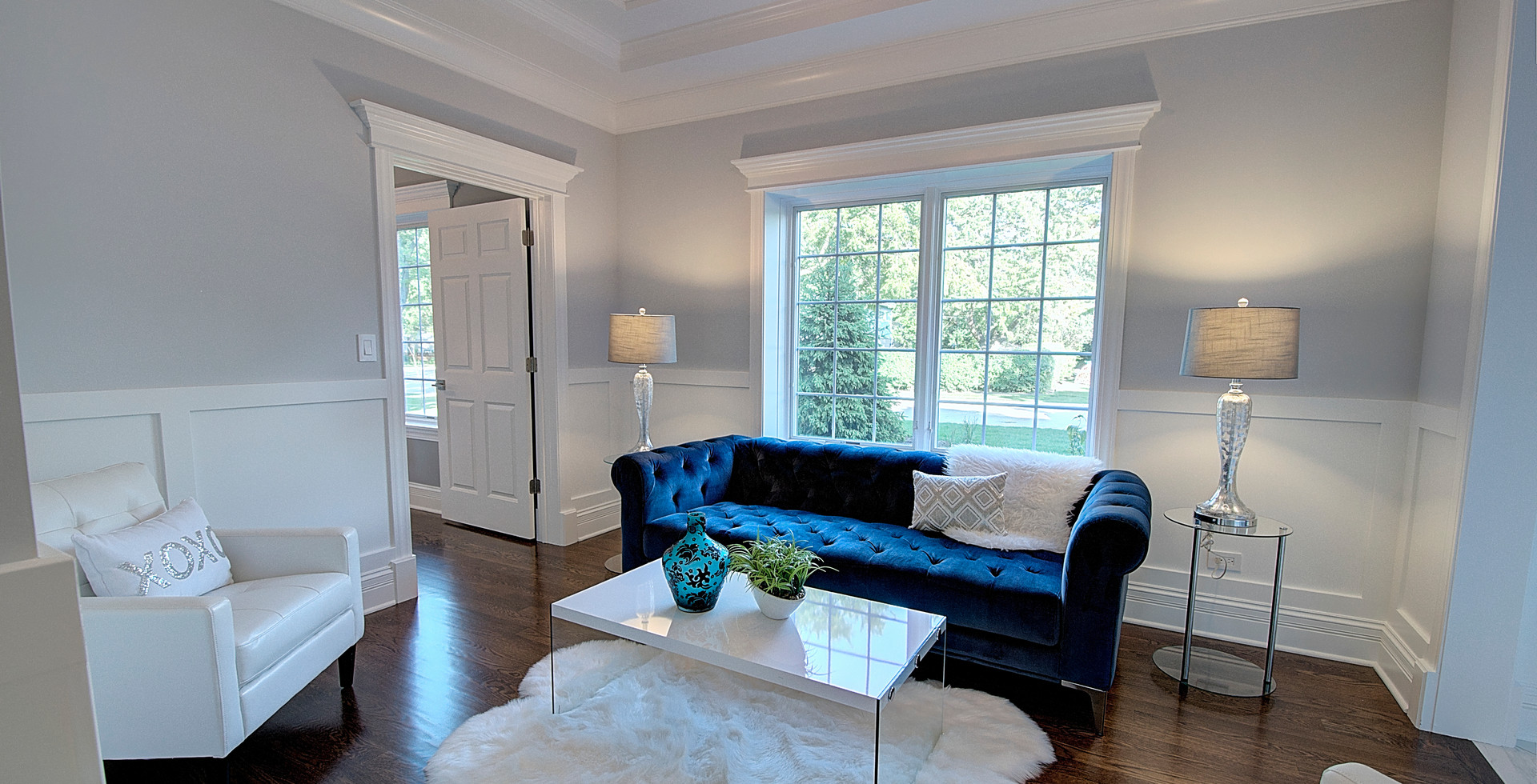 Living Room in Bolingbrook designed by MRM Home Design.jpg