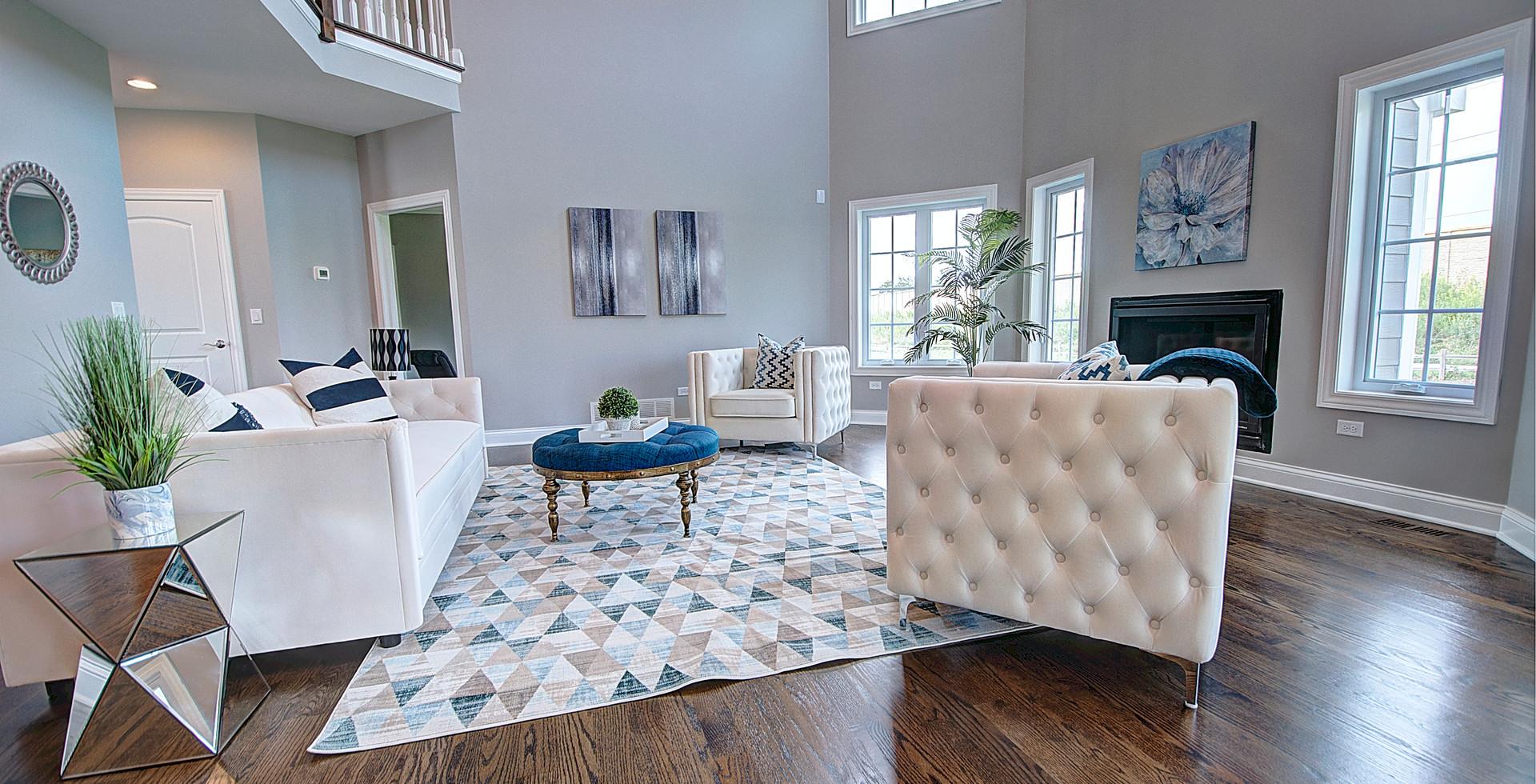 Living Room in Hoffman Estates designed by MRM Home Design.jpg