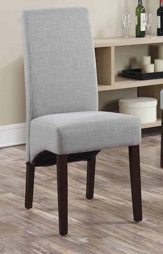 #297 Gray Dining Chairs (Set of 4) $160