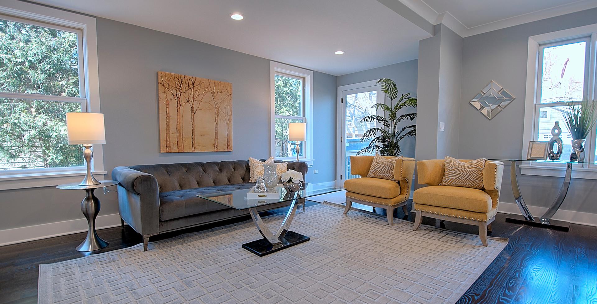 Living Room in Wilmette designed by MRM Home Design.jpg