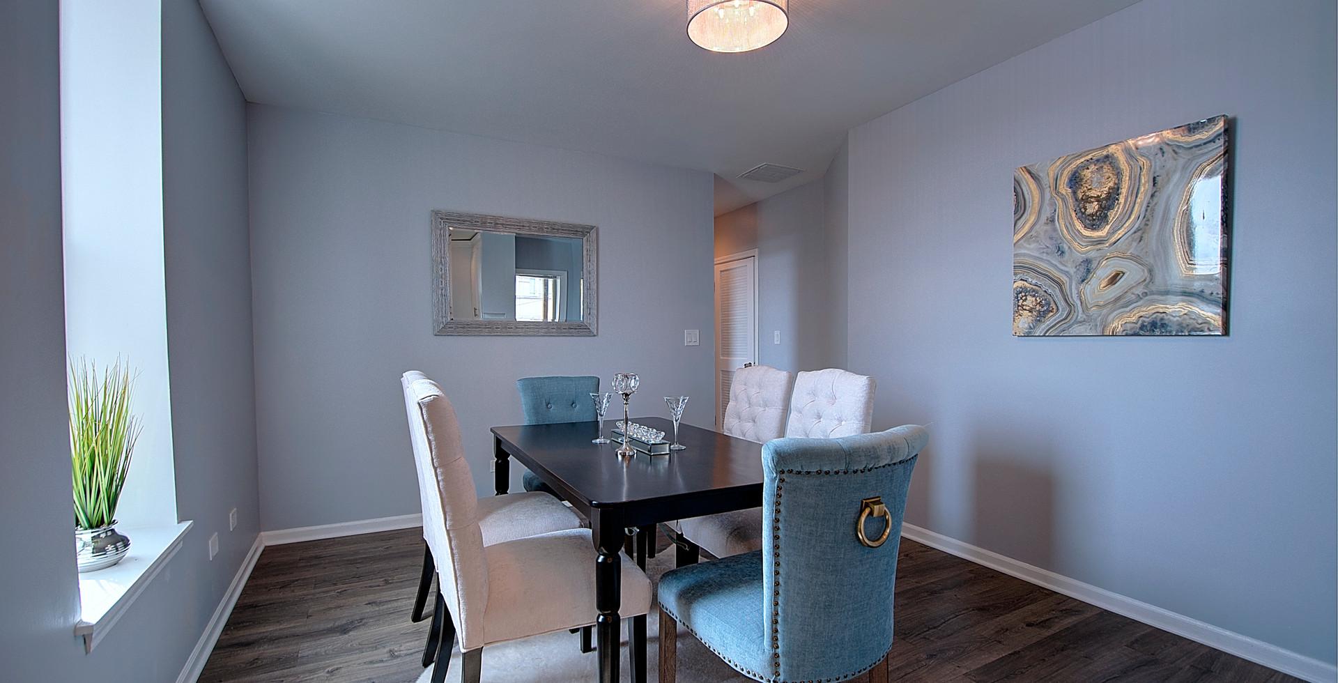 Dining Room in Park Forest designed by MRM Home Design.jpg
