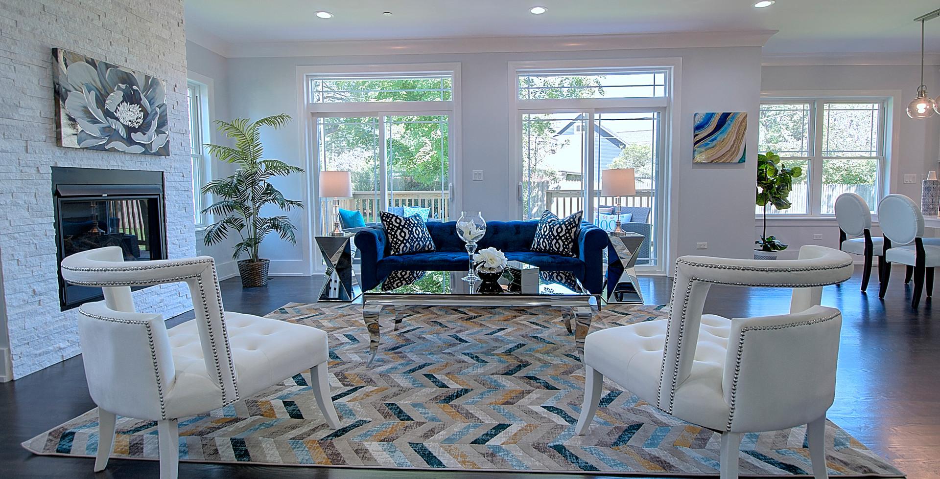 Living Room in Hinsdale designed by MRM Home Design.jpg