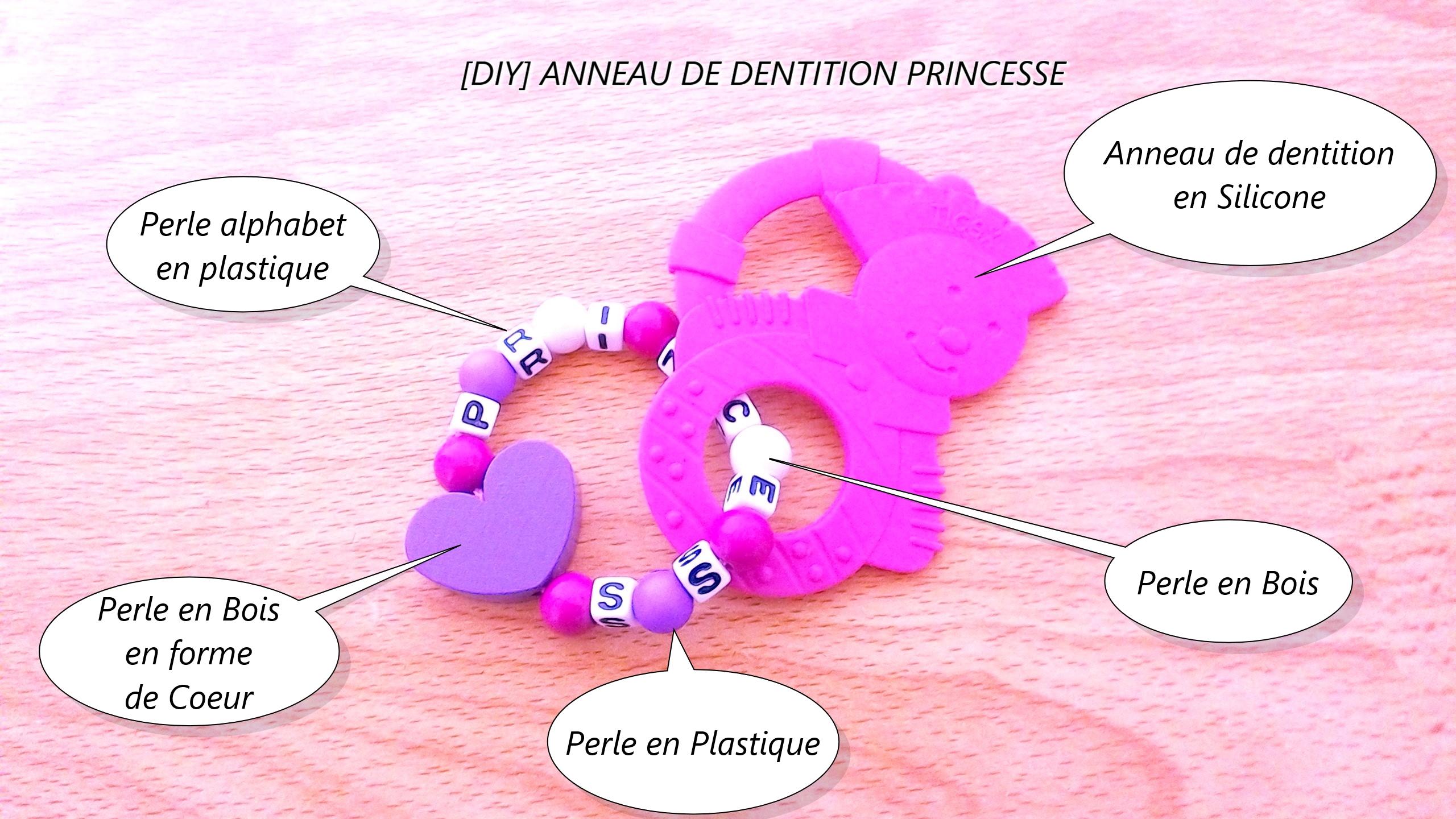 [DIY] ANNEAU DE DENTITION PRINCESSE