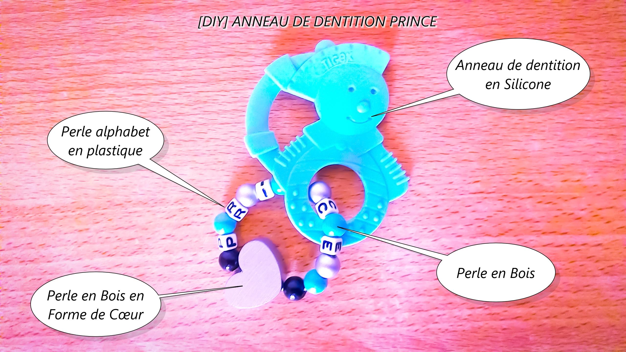 [DIY] ANNEAU DE DENTITION PRINCE