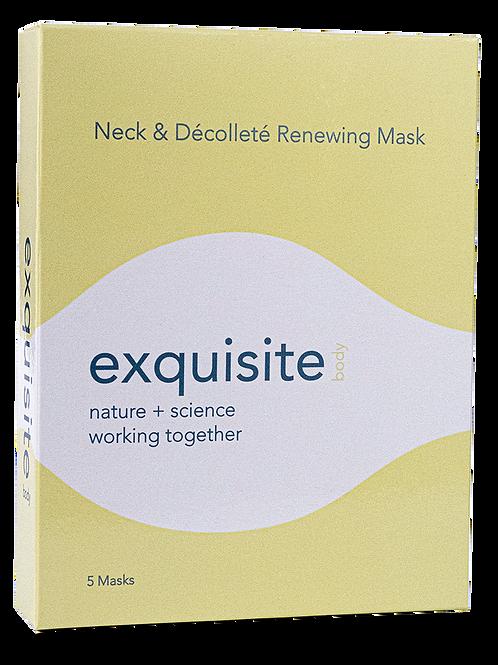 Neck & Décolleté Renewing Mask