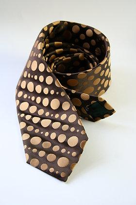 Chocolate Satin Finish Pure Silk Handmade Tie