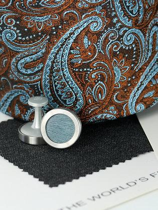 Mahogany Paisley Pure Silk Handmade Tie