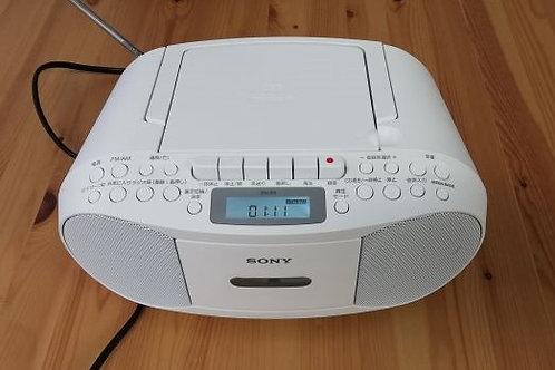 SONY CDラジカセレコーダー CFD-S70