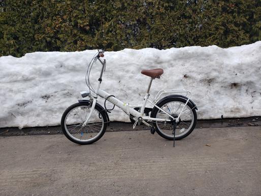 自転車で下半身の強化