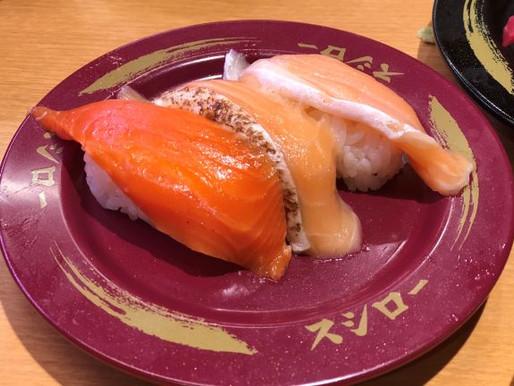 回転寿司で大満足in山の手