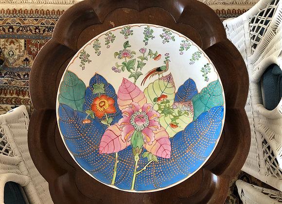 Chinese Tobacco Leaf Platter
