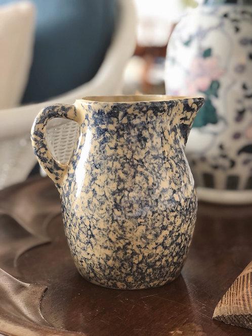 Vintage Blue Spatter Ware