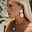 Thumbnail: LA MER Original Statement Earrings - White