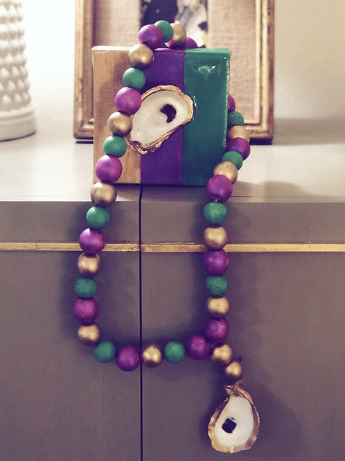 Mardi Gras Blessing Beads - 2 sizes avail.