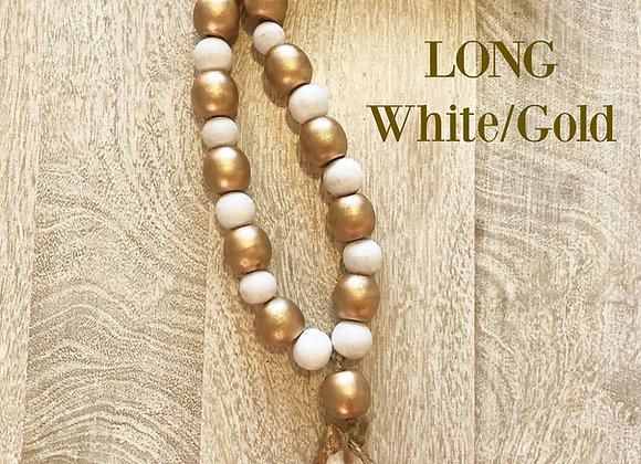 Long Oyster Shell 'Blessing Beads'