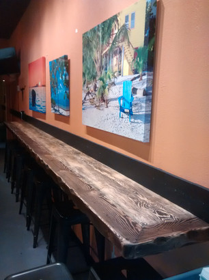 Counter bar Viva Mexicana