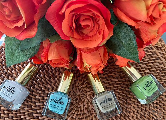 Luxury Vegan CBD Nail Lacquer - Mini Collection (Choice of 5 Colors)