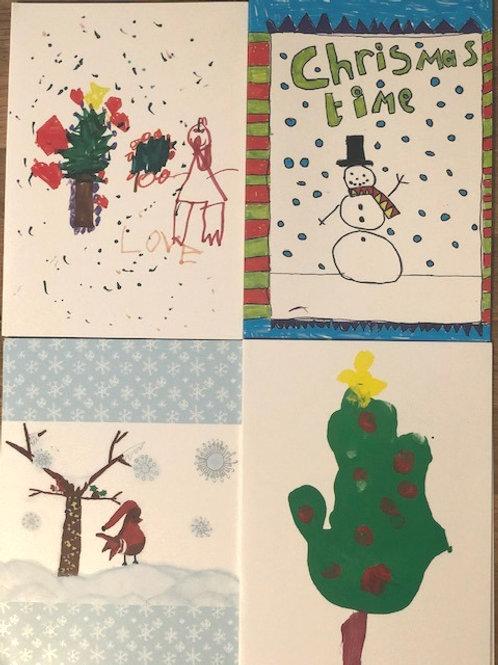 Mummy's Star Christmas Cards
