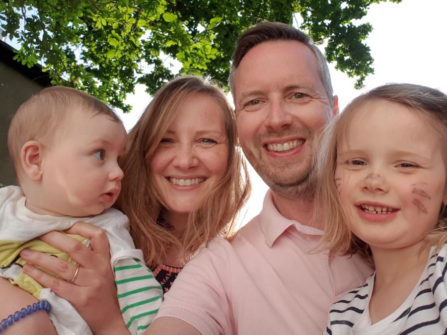 fiona and family