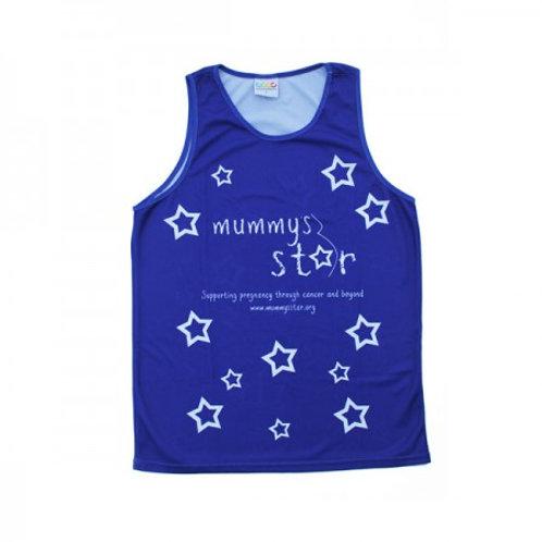 Mummy's Star Running Vest (Unisex)