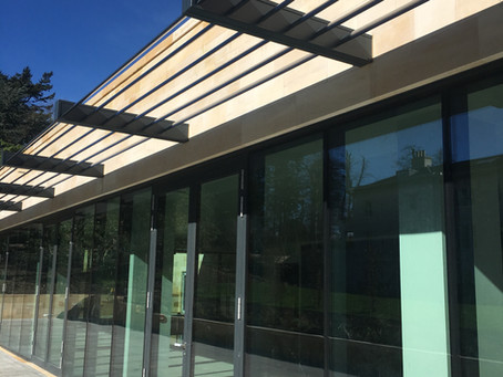 Bespoke Brise Soleil installation at the Luxurious new Rudding Park Spa, Harrogate