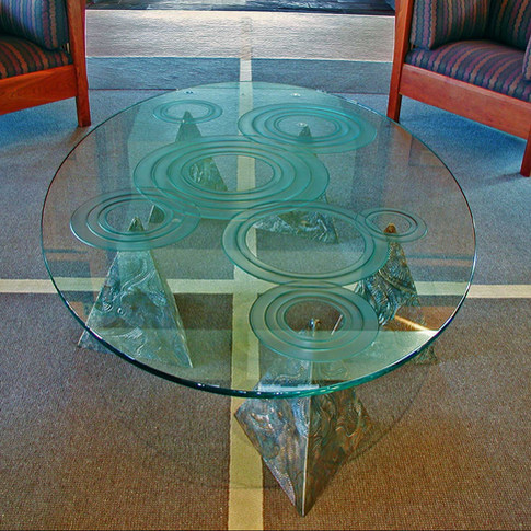 TABLE FOR MCCONNELL FOUNDATION LIVING ROOM POD