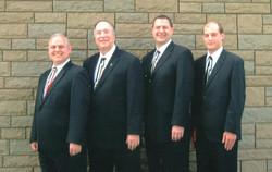 L-R Greg, Kermit, Vance, Jon