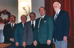 L-R Art, Bill, Forest, Kermit, Don - 2002