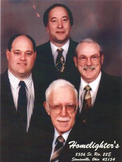 (L-R Kermit, Nathan, Bob, Don)