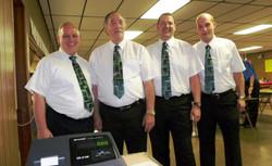 L-R Greg, Kermit, Vance, Jon - 2012