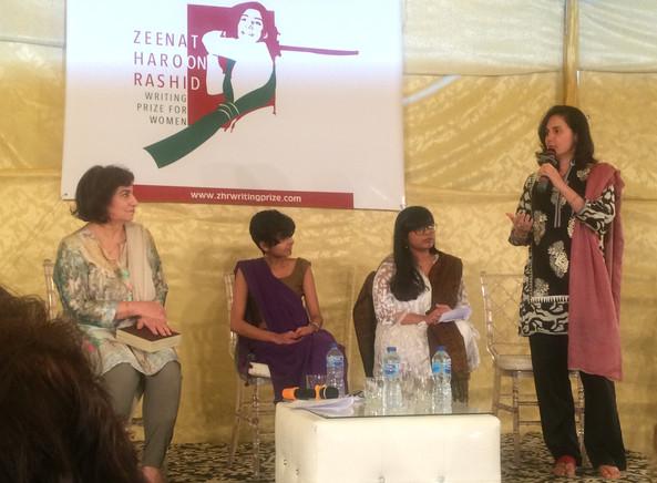 Kamila Shamsie, Maham, Sadia, Syra