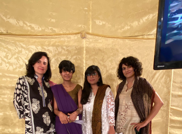 Kamila, Sadia, Maham and Shan