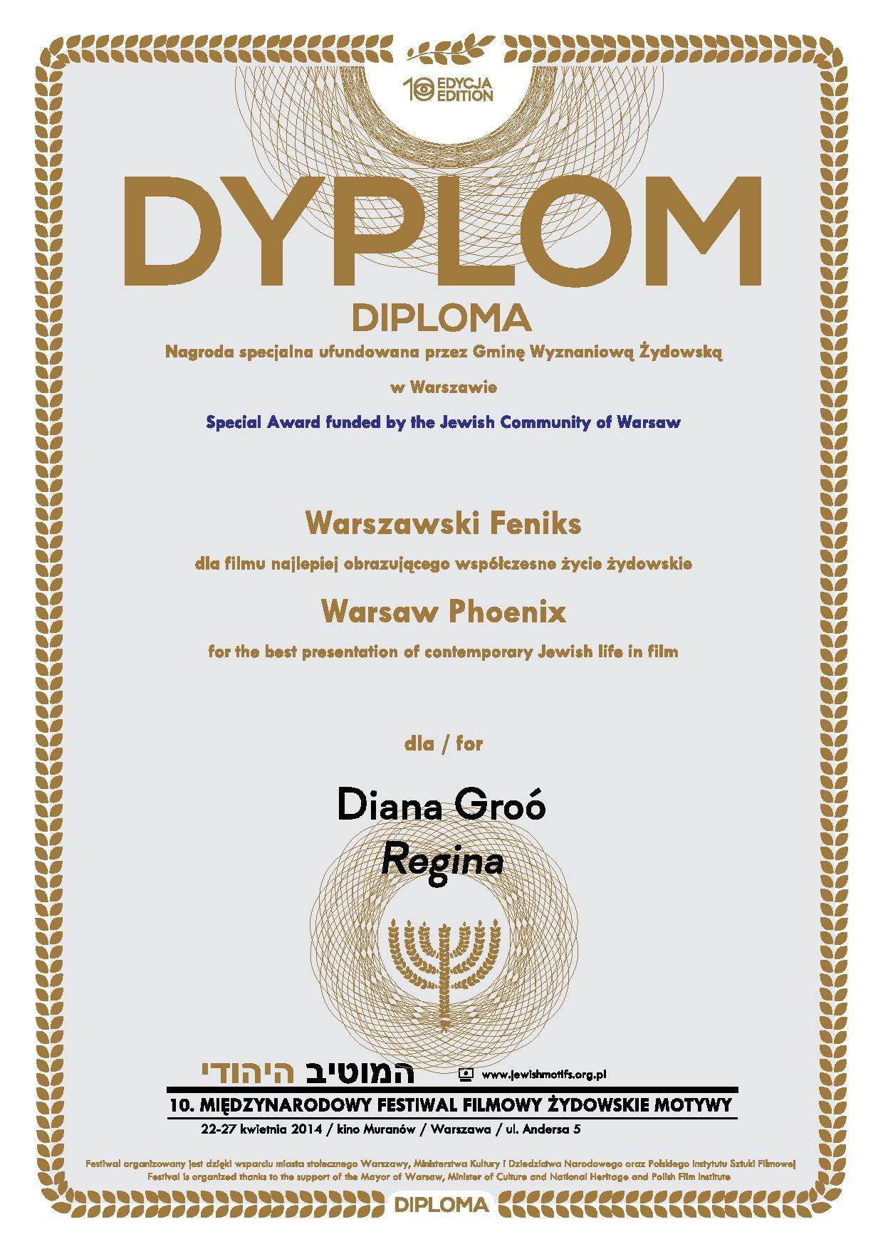 Warsaw Phoenix Award