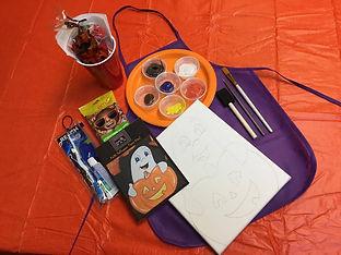 C2C_Keiki Art Kits_Halloween_Blue Hoku M