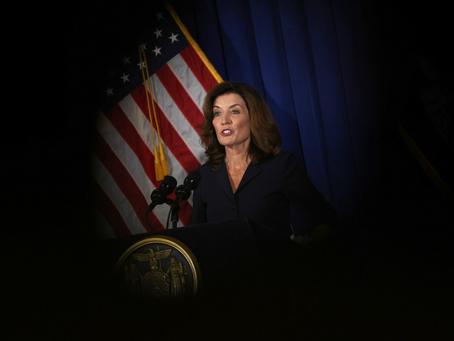 Kathy Hochul's rise in New York spotlights the barriers to women becoming governors