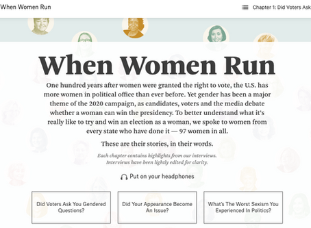 When Women Run - FiveThirtyEight (audio)