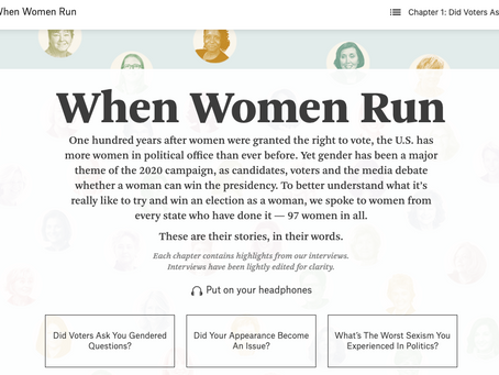 When Women Run - FiveThirtyEight (audio)